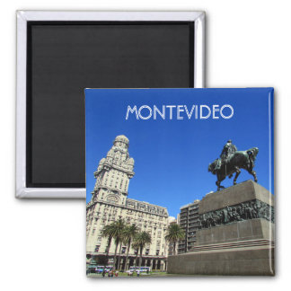 montevideo plaza square magnet