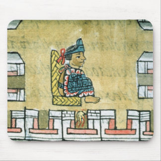 Montezuma II , from the 'Florentine Codex' Mouse Pad