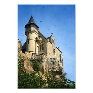 Montfort castle, Dordogne, France Photo Print