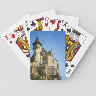 Montfort castle, Dordogne, France Playing Cards
