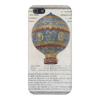 Montgolfier Brothers 1783 Hot Air Balloon Flight iPhone 5 Case