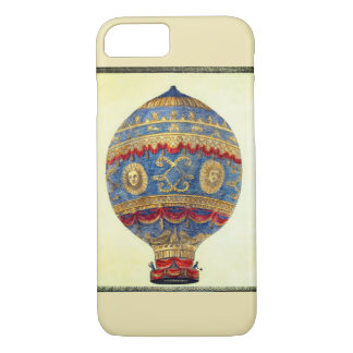 Montgolfier Brothers in the First Hot Air Balloon iPhone 8/7 Case