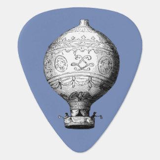 Montgolfier Vintage Hot Air Balloon Guitar Pick