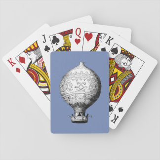 Montgolfier Vintage Hot Air Balloon Playing Cards