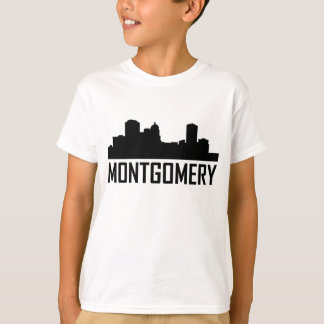 Montgomery Alabama City Skyline T-Shirt
