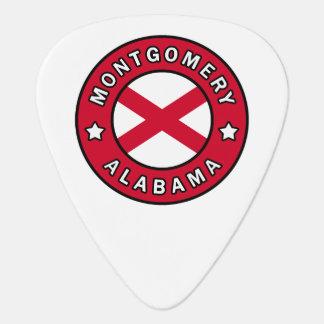 Montgomery Alabama Guitar Pick