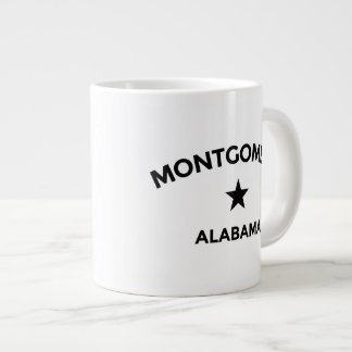 Montgomery Alabama Large Mug 20 Oz Large Ceramic Coffee Mug