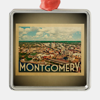 Montgomery Alabama Ornament Vintage Travel