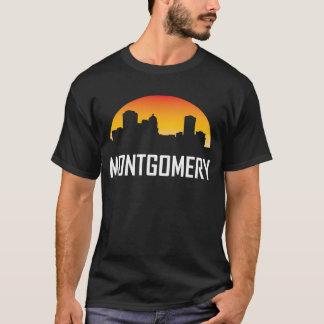 Montgomery Alabama Sunset Skyline T-Shirt
