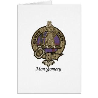 Montgomery Clan Crest Card