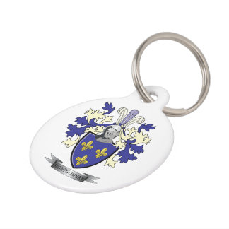 Montgomery Family Crest Coat of Arms Pet Tag