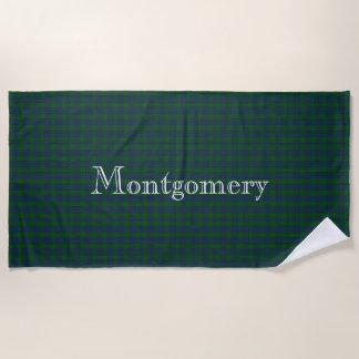 Montgomery Tartan Plaid Beach Towel