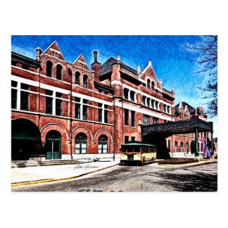 Montgomery Union Station - Montgomery, Alabama Postcard