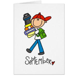 Month of September Card