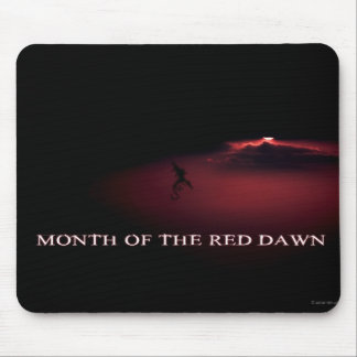 Month of the Red Dawn - January - Cedric Mouse Pad