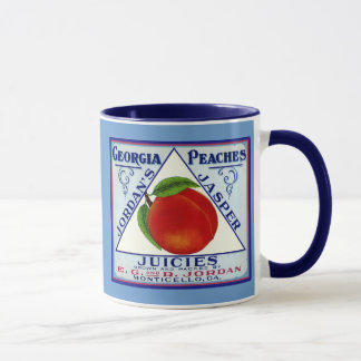 Monticello Georgia Peaches Mug