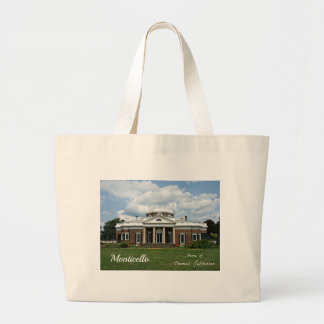 Monticello, Home of Thomas Jefferson Bags