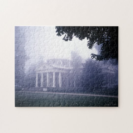 Monticello Thomas Jefferson's  Home Jigsaw Puzzle