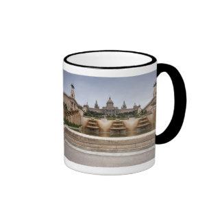 Montjuc Fortress Ringer Mug