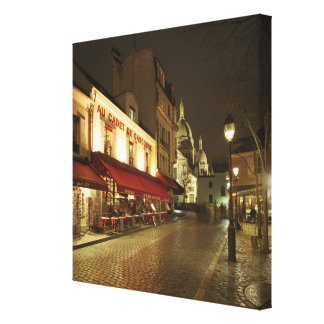Montmartre 2 gallery wrapped canvas