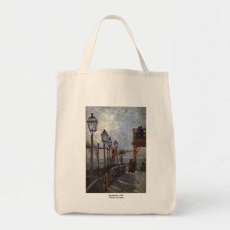 Montmartre by Vincent van Gogh Bags