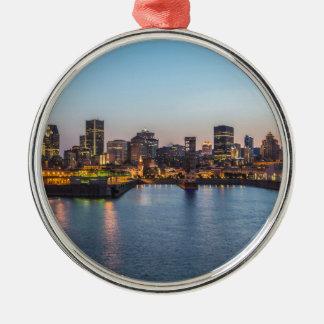 Montreal 3 metal ornament