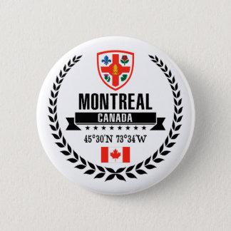 Montreal 6 Cm Round Badge