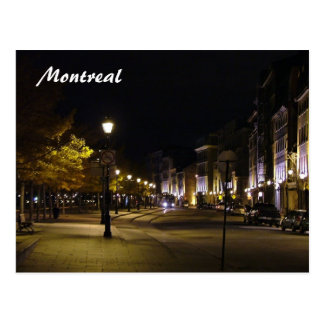 Montreal by Night Postcard