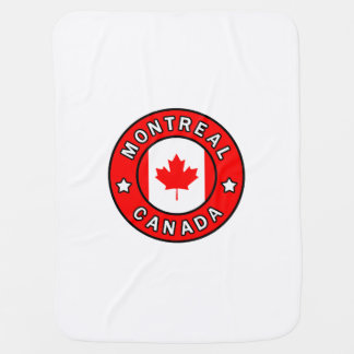 Montreal Canada Baby Blanket