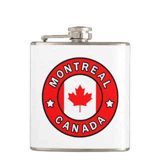 Montreal Canada Hip Flask