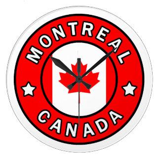 Montreal Canada Large Clock