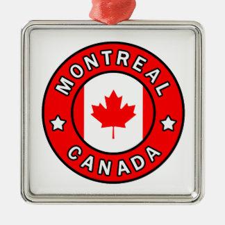 Montreal Canada Metal Ornament