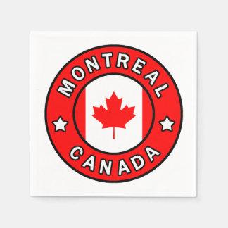 Montreal Canada Paper Napkin