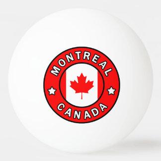 Montreal Canada Ping Pong Ball