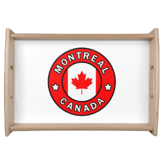 Montreal Canada Serving Tray