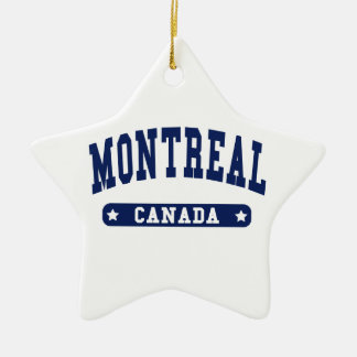Montreal Ceramic Ornament