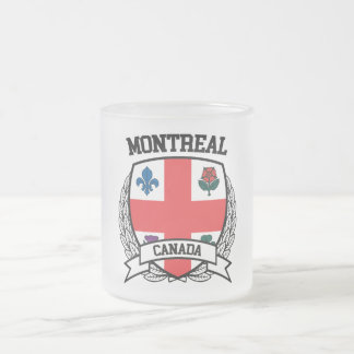 Montreal Frosted Glass Coffee Mug
