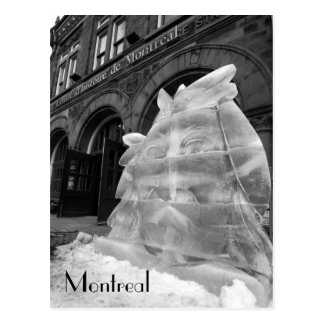 Montreal Historic Center Postcard