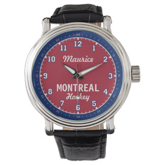 Montreal Hockey 12 Hour Watch