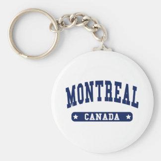 Montreal Key Ring