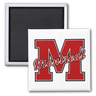 Montreal Letter Square Magnet