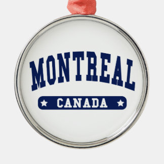 Montreal Metal Ornament