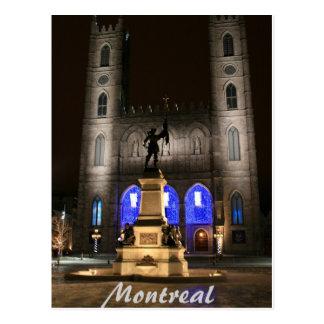 Montreal Notre-Dame Basilica Postcard