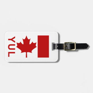 Montreal P.E.T Luggage Tag (add your contact info)