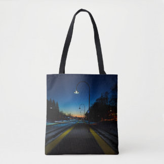 Montreal pictures tote bag