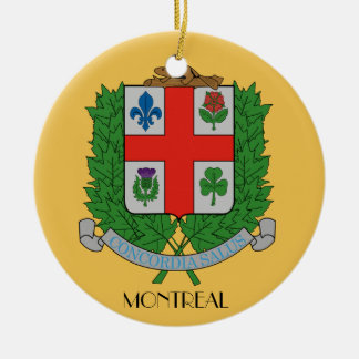 Montreal*, Quebec Christmas Ornament