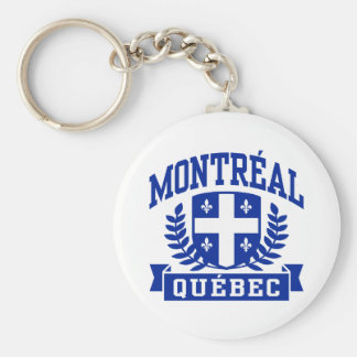 Montreal Quebec Key Ring