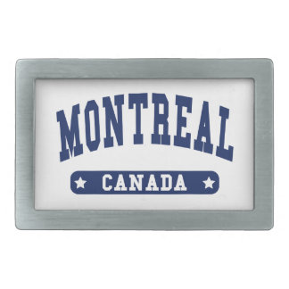 Montreal Rectangular Belt Buckles