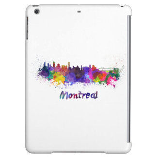 Montreal skyline in watercolor