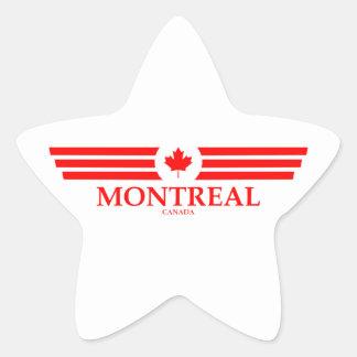 MONTREAL STAR STICKER